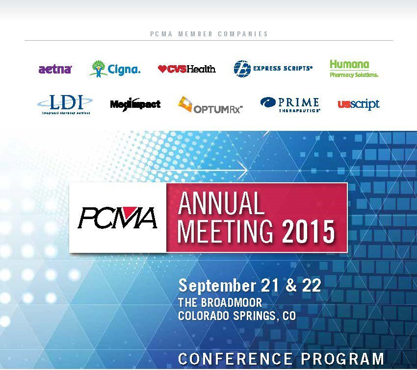 2015_PCMA Annual Meeting_Program Book
