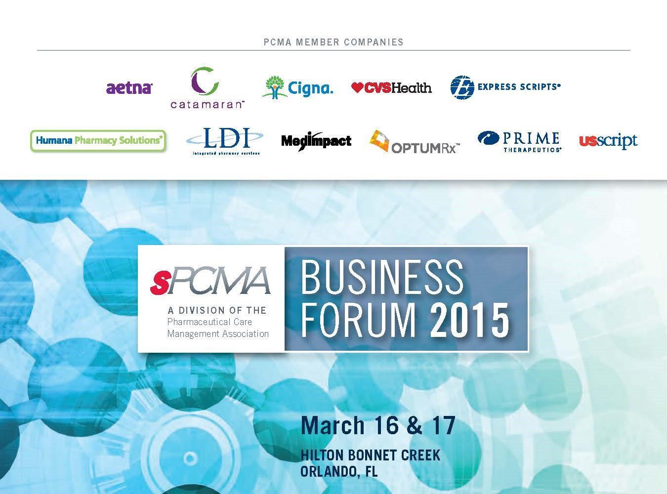 2015_sPCMA Business Forum_Program Book